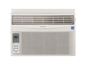 Sharp AFS80RX 8000 BTU Energy Star Window Air Conditioner, White