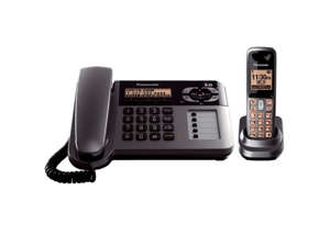 Panasonic Panasonic Cordless Phone-Dig, Answ Sys 6.0, Speakerphone, Black