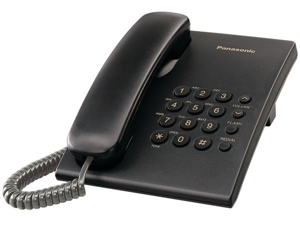 Panasonic Panasonic KX-TS500B Integrated Corded Phone System