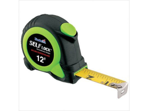 Komelon USA 416-SL2812 12' Self Lock Self-Locking Tape Measure