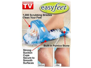 AS SEEN ON TV EASYFT EASY FEET CLEANS-MASSGES FEET
