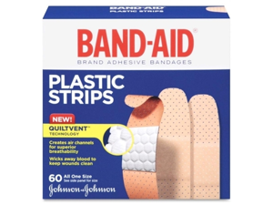 Johnson & Johnson Johnson & Johnson Adhesive Bandages, Plastic, .75, All One Size, 60-BX
