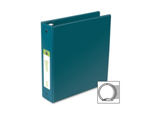Acco-Wilson Jones Acco-Wilson Jones Standard Round Ring Binder, 2 in.Cap, 11 in.x8-.5 in., Green