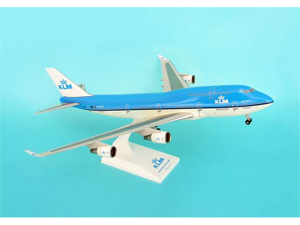 Daron SKR434 Skymarks KLM Royal Dutch Airlines 747- 400 with Gear - New Livery