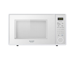 Sharp R-309YW 1.1 Cu Ft. 1000W Touch Microwave with 11.25 in. Turntable - Smooth White