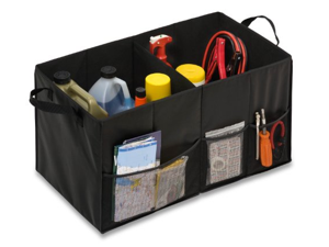 Honey-Can-Do International SFT-01166 Black Folding Trunk Organizer