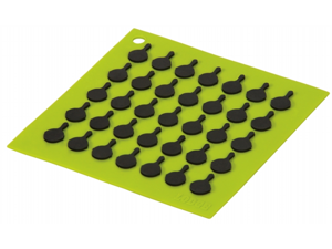 Lodge AS7S51 Green Square Silicone Trivet