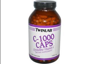 Twinlab 0765024 C-1000 Caps - 1000 mg - 250 Capsules