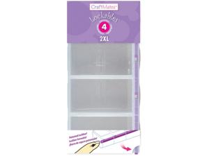 Apothecary Products AP90396 Craft Mates Lockable Double Organizer