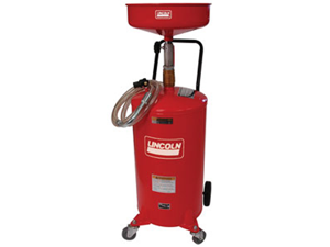 LINCOLN 3601 18 Gallon Pressurized Oil Evac System