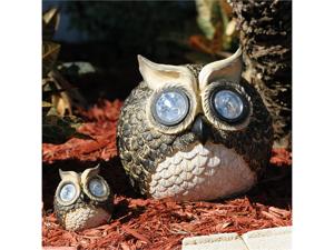 Smart Solar 3563WRM2 Solar Owl Accent Lights - Set of 2