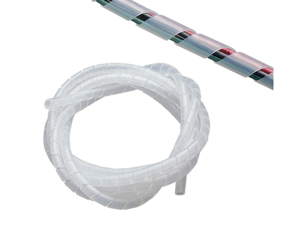 Gardner Bender .50in. X 6ft. Clear Spiral Wrap  73452