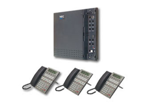 NEC Unified Solutions 1091015 DSX-40 KSU &- 3 22 Button Phone Kit