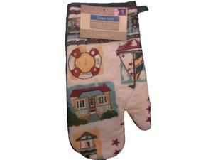 Bulk Buys Printed in. Cottage by the Lake in. Oven Mitt - Case of 72