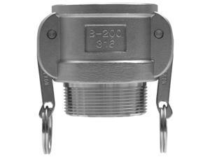 Dixon Valve 238-G100-B-SS 1 Inch Stainless Global Female Coupler