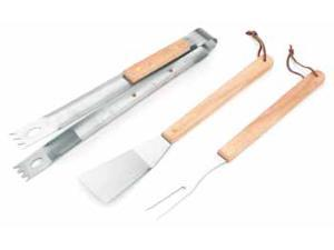 Bulk Buys KitchenWorthy 3 Piece BBQ Tool Set - Case of 25