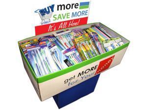 Bulk Buys Dental Care Dump Display - Case of 200