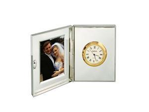 Natico Originals 10-107 Clock & Picture Frame,S-Plate