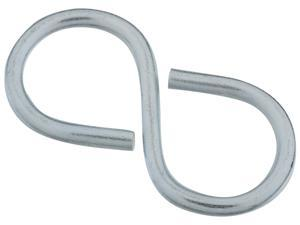 Stanley Hardware 759178 3 Count 2.13 in. Zinc Closed S Hook
