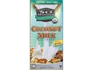 So Delicious 86767 So Delicious Original Unsweetened Coconut Milk- 12-32 OZ