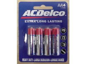 AC Delco AA Heavy Duty Batteries - Case of 48