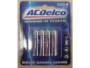 AC Delco AAA Alkaline Battery - Case of 48