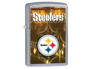 Zippo 28612 Steelers Street Chrome Lighter