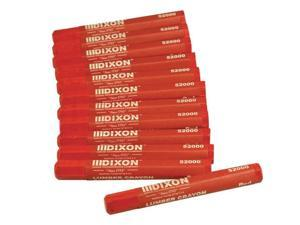 Dixon Ticonderoga 464-52000 Lumber Crayon Red520