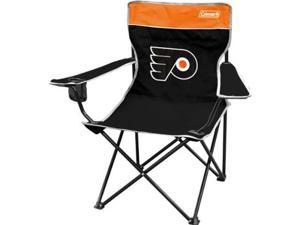 Coleman IF-COL-09874102111 Philadelphia Flyers Broadband Quad Tailgate Chair