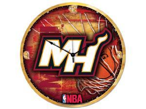 Wincraft WN-2486581 Miami Heat Big 18 in. Hi Definition Clock