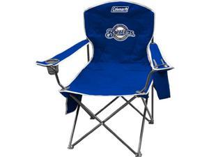 Coleman IF-COL-02280006111 Milwaukee Brewers Cooler Quad Tailgate Chair