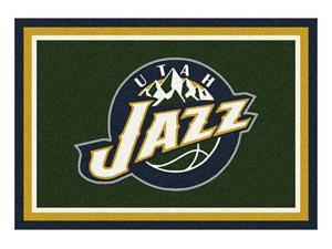 Milliken MI-4000052567 Utah Jazz 5 ft. 4 in. x 7 ft. 8 in. Premium Spirit Rug