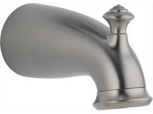 Delta RP42915SS 6.5 in. Leland Non-Metallic Pull-Up Diverter Tub Spout in Stainless