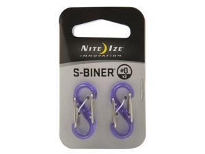 SBiner Plastic #0 2Pk.Translucent Purp - SBP0-2PK-23T