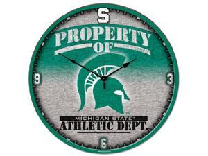 Wincraft WN-2458581 Michigan State Spartans Big 18 in. Hi Definition Clock