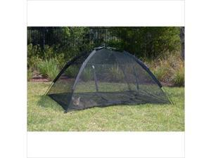 Abo Happy Habitat Pop up Mesh Tent with Safety - Black - 10672