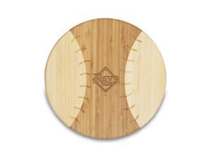 Picnic Time PT-894-00-505-273-3 Tampa Bay Devil Rays Homerun Cutting Board