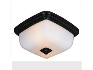 World Imports WI857288 Galway Bath Collection 2 Light Flush-Mount Ceiling Fixture in Oil-Rubbed Bronze
