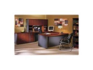 Mayline AB5S36LCR, Mayline Aberdeen Tech-Friendly Laminate Desking, MLNAB5S36LCR, MLN AB5S36LCR