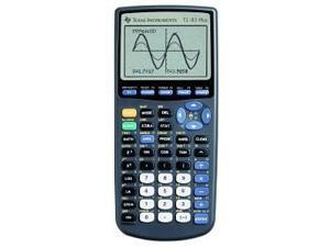 Texas Instruments 83PL-TBL-1L1-Z 83 Plus Graphing Calculator Black