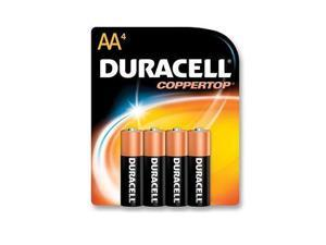 PROCTOR AND GAMBLE MN1500B4Z DURACELL COPPERTOP AA 4-PK