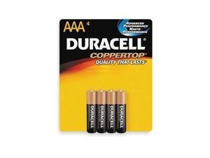 PROCTOR AND GAMBLE MN2400B4Z DURACELL COPPERTOP AAA 4-PK