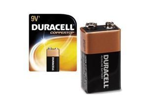 PROCTOR AND GAMBLE MN1604B1Z DURACELL COPPERTOP 9V 1-PK