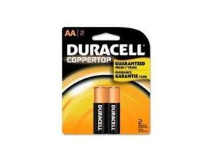 PROCTOR AND GAMBLE MN1500B2Z DURACELL COPPERTOP AA 2PK.