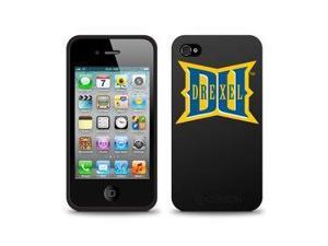Centon Electronics IPH4C-DREX Drexel University Custom Logo iPhone 4G Case Black iPhone 4-4S Black