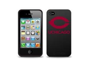 Centon Electronics IPH4C-UOC University of Chicago Custom Logo iPhone 4 Case Black iPhone 4-4S Black