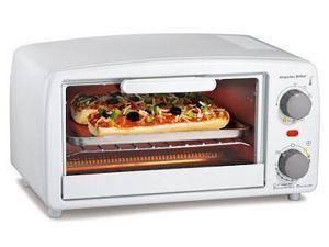 Proctor 31116 WHT Toaster Oven-Broiler - White