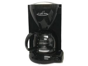 Coffee Pro CP6B Personal Home-Office Coffee Maker, Black