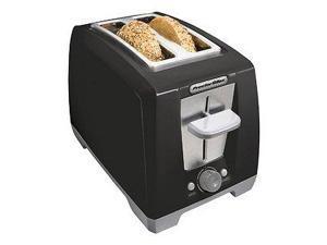 Proctor 22334 BLK 2 Slice Bagel Toaster - Black