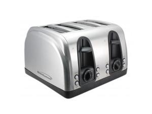 Brentwood Appliances TS-445S 4 Slice Toaster with Extra Functions - Stanless Steel